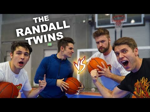 CHALLENGING TWINS TO 2v2 TRICK SHOT H.O.R.S.E.!