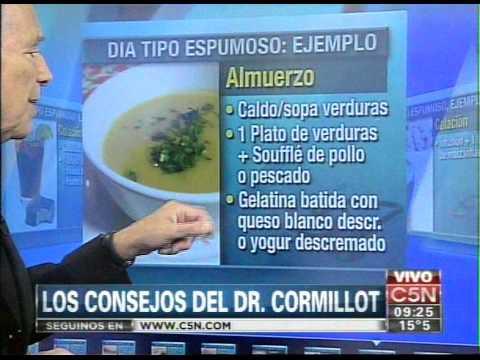 dr cormillot dietas para adelgazar