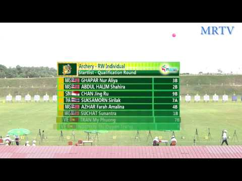 Archery Day1 At 27th SEA Games