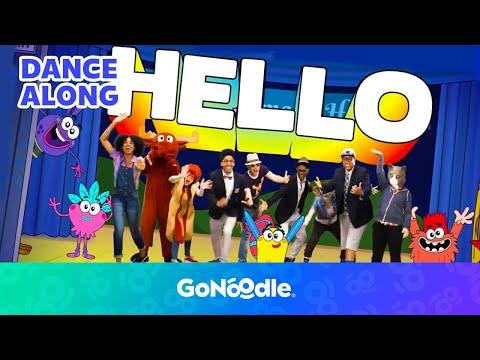 Hola Bonjour HELLO - Champiverse  GoNoodle