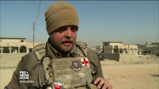 These medical volunteers risk their lives to save Mosul's injured