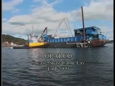 OPALCO Undersea Cable Lay Orcas-Shaw (2000)