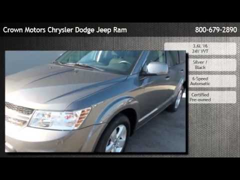 2012 Dodge Journey Sxt Grand Rapids Youtube