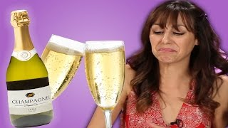 French People Try Cheap American Champagne