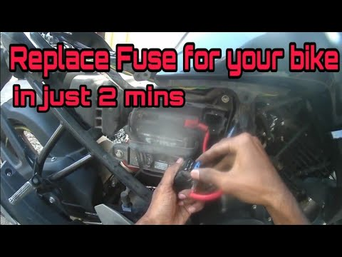 replacing fuse in yamaha fz bike | what to do when your bike's ... yamaha fazer fuse box location fz 09 fuse box location youtube