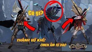 Sau Lưng Omen Ám Tử Đao Có Gì? Thánh Sưu Tầm Vũ Khí Của Liên Quân Mobile Là Đây!! | VietClub Gaming