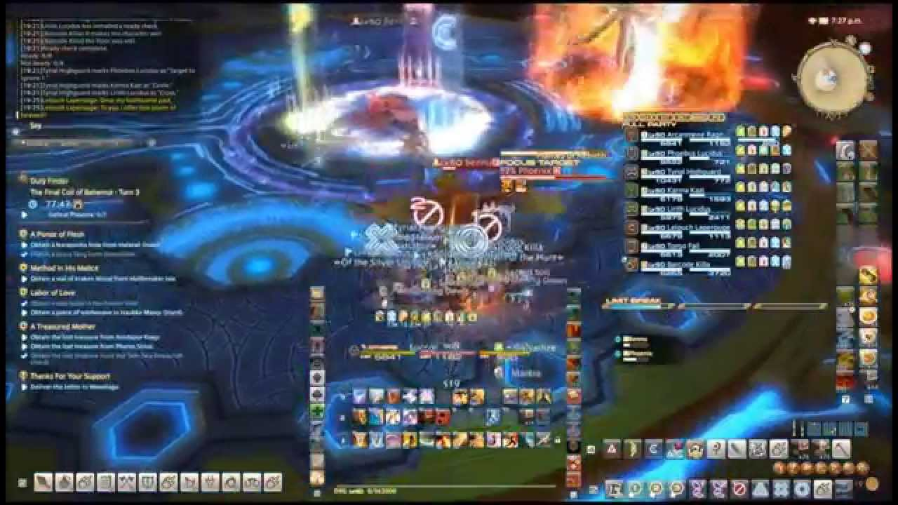 MMO (FFXIV, WoW, or Bless) - Accomplishments and Expansion