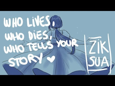 Who Lives, Who Dies, Who Tells Your Story- Hamilton Animatic