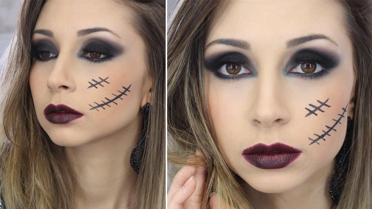 Maquiagem para halloween 2018