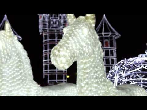 Новогодняя елка 2012 Нижнекамск HD