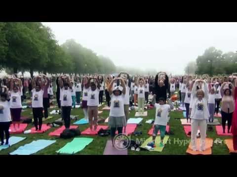 Time Lapse of Yoga Day Celebrations at Helsinki, 2015