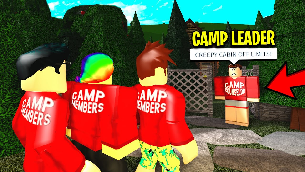 He Ran A Bloxburg Camp Whats In His Forbidden Cabin Will Scare You Roblox - roblox videos poke bloxberg