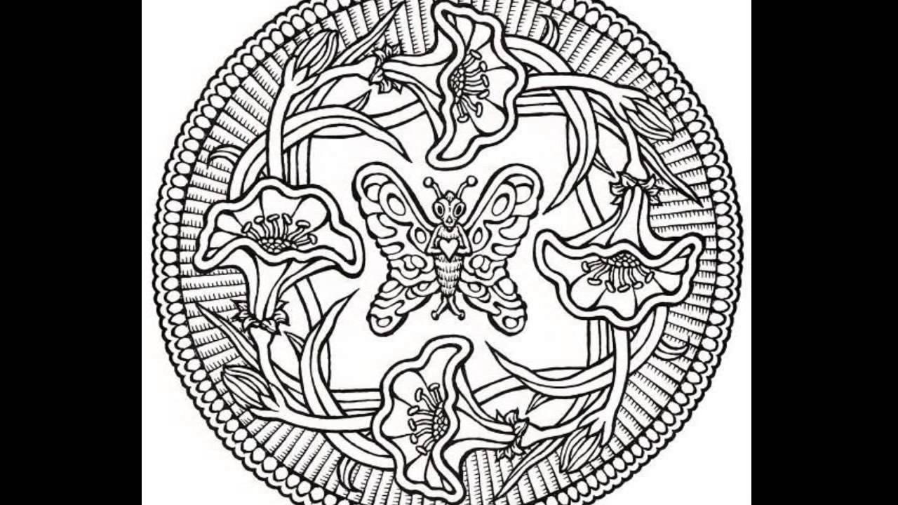 Mandalas Para Colorear Mandalas De Animales: Animales En Los Mandalas.
