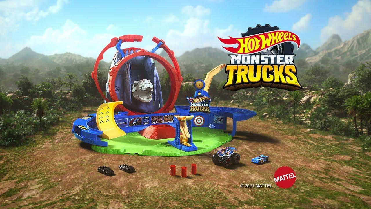 Hot Wheels Volcano Arena AD