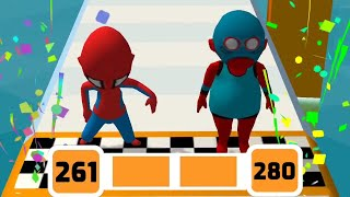 Fun Race 3D Game Level 261-280 Walkthrough