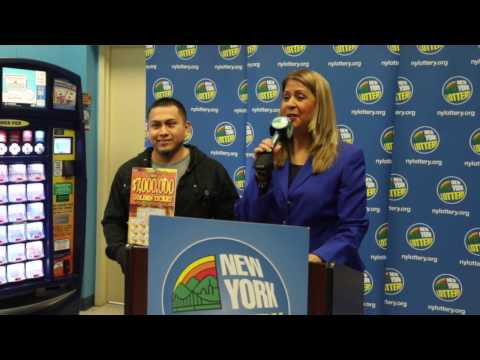 Staten Island construction worker announced as $7M lottery winner