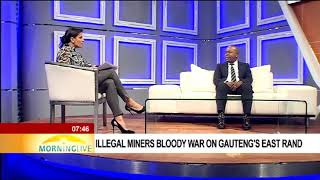 Mayor Mzwandile Masina talks on-going turf war among illegal miners
