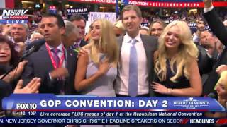 HISTORIC MOMENT: Donald Trump OFFICIAL Republican Nominee For President