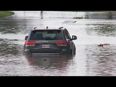 Tropical Storm Cindy slams the Gulf Coast
