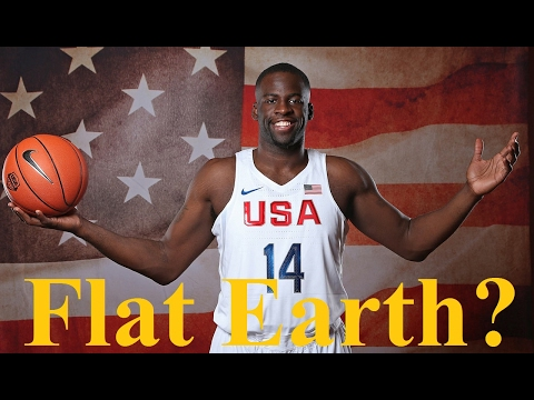 NBA Star Draymond Green on Flat Earth - Do your own research ✅