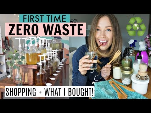 Zero Waste Shopping! | My Journey to an Eco Friendly Lifestyle!