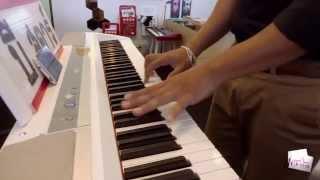 ทิ้งไว้กลางทาง Piano Karaoke