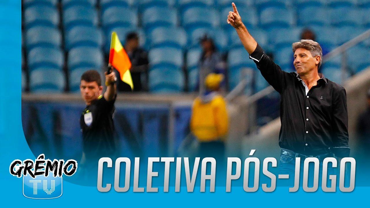 Resultado de imagem para Coletiva do Grêmio x Atlético-MG (Copa do Brasil 2016)renato