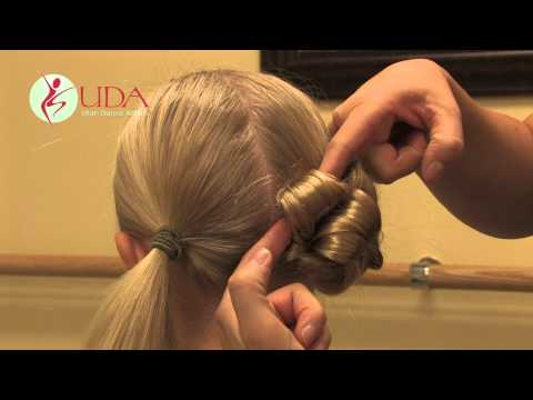 Dance Competition Hair Demonstration - Junior & Mini Teams - Utah Dance Artists 2012
