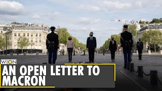 'Civil War Is Brewing In France': Soldiers Warns President Emmanuel Macron   Latest English News