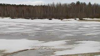В Урае спасли женщину со льдины