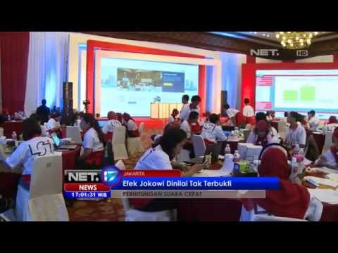 NET17 - Peneliti Lembaga Riset Menilai, Efek Jokowi Tak Sehebat Yang Dibayangkan