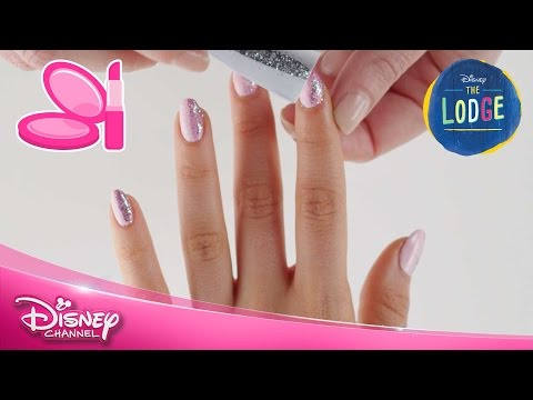 The Lodge | Nail Art Tutorial: Skye | Official Disney Channel UK