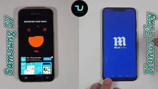 Samsung S7 vs Honor Play Speed test/Comparison/Exynos 7 vs Kirin 970