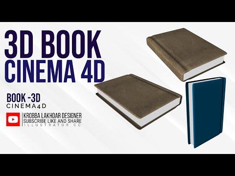Modeling book in cinema 4D