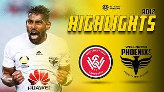 Full Time Highlights   Western Sydney Wanderers Vs Wellington Phoenix