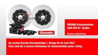 BREMBO Bremsscheiben AUDI RS4 B7  Quattro by Motoröl-King