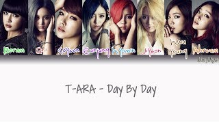 T-ara (티아라) – Day By Day Lyrics (Han|Rom|Eng|Color Coded) #TBS