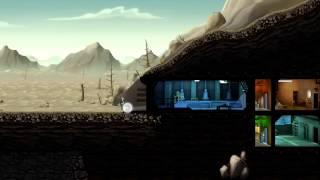 fallout shelter  на андроид (без звука)