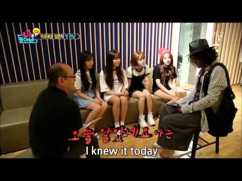 AOA meet Choi Min Soo (Eng Sub)