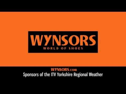 Wynsors World of Shoes - ITV Regional Weather Sponsorship 2012