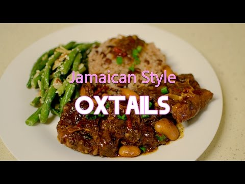 Jamaican Style Oxtails Recipe Video