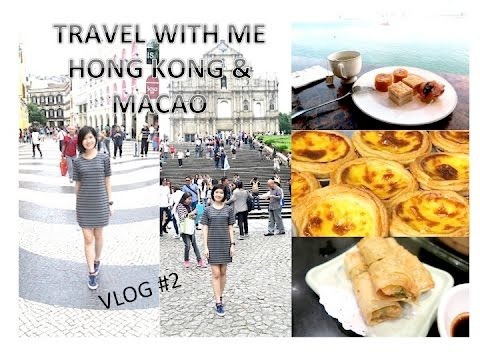 TRAVEL WITH ME: Short Trip to Hong Kong & Macao Vlog #2 | VLOGWITHCAL | Singapore