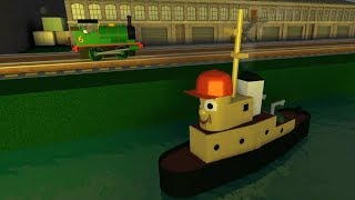 Thomas and Friends Roblox Percy and Theodore Tugboat