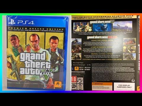 Grand Theft Auto 5 Premium Edition LEAKED! - NEW GTA Online