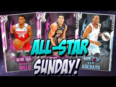 NBA 2K20 MYTEAM ALL-STAR SUNDAY! SO MANY NEW PINK DIAMONDS! LEBRON PG FIRED!?
