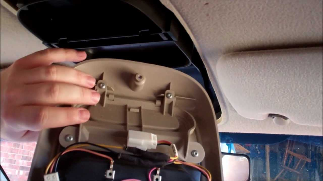 maxresdefault overhead trip computer console install 2001 dodge dakota youtube 2017 Dodge Ram Wiring Diagram at gsmx.co