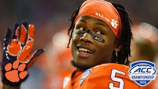 Clemson Players React To Winning 5th Straight ACC Title