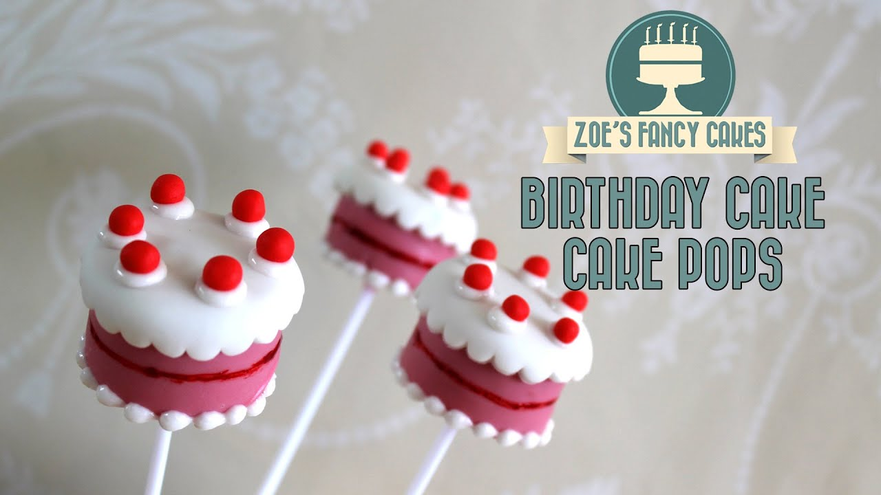Birthday Cake Pops How To Make