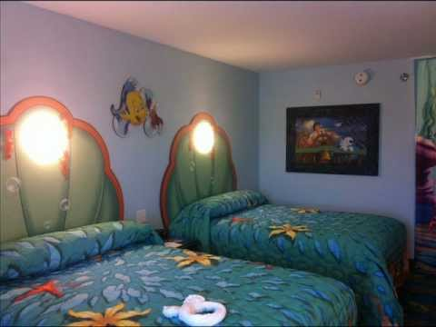 Disney Art Of Animation Resort The Little Mermaid Room