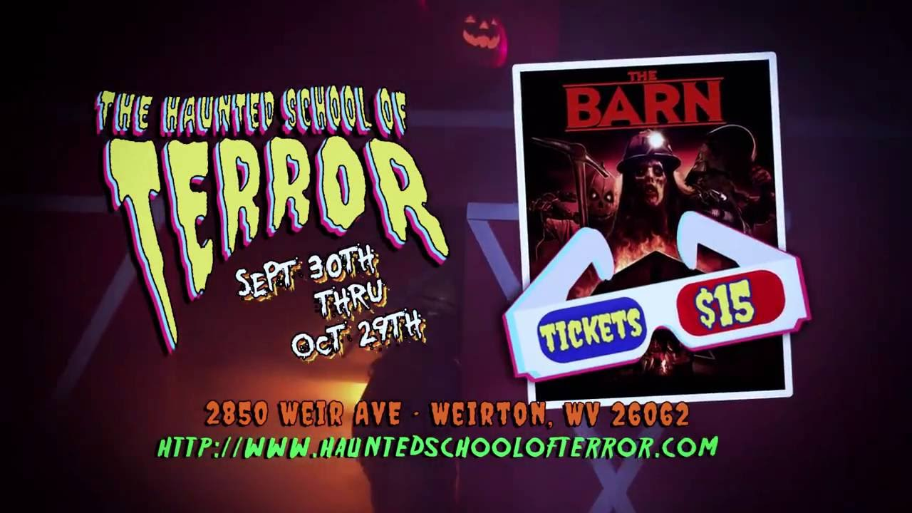 The Barn Movie And The Haunted School Of Terror Youtube